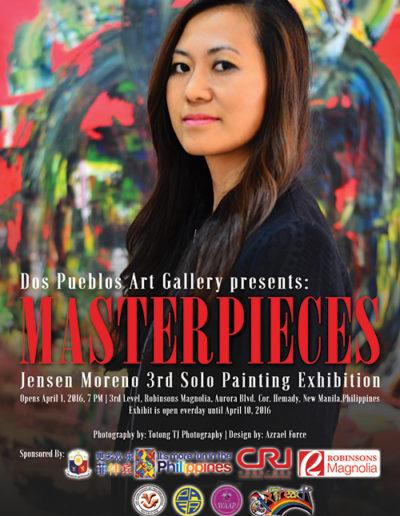 2016 Masterpieces Manila, Philippines
