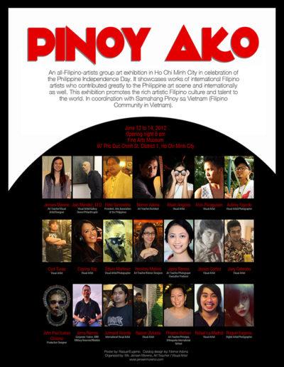 2012 Pinoy Ako Vietnam Exhibit